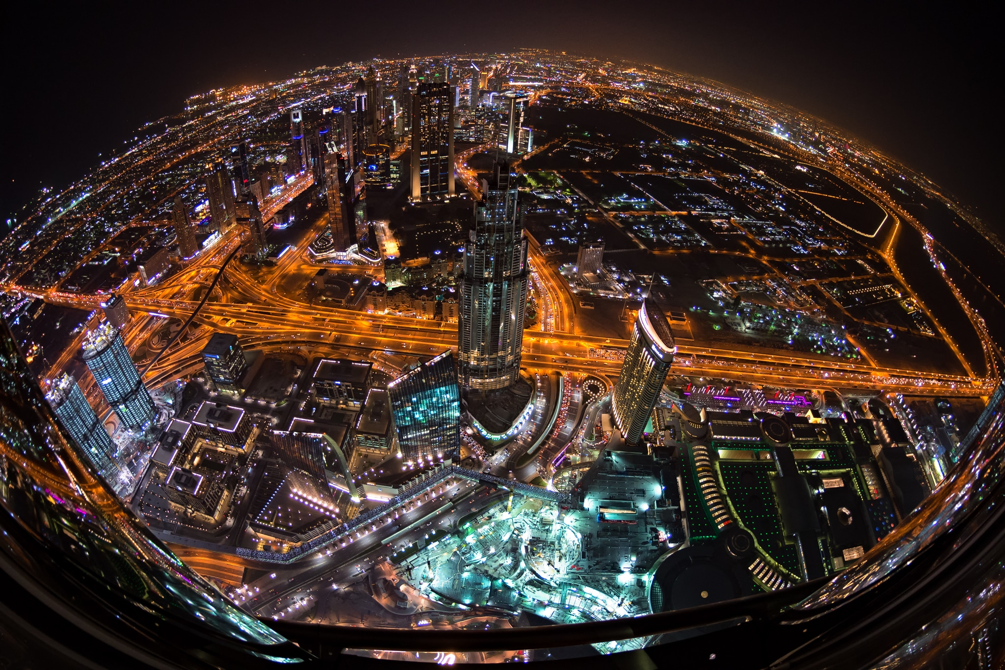 At the top (Dubai,UAE)